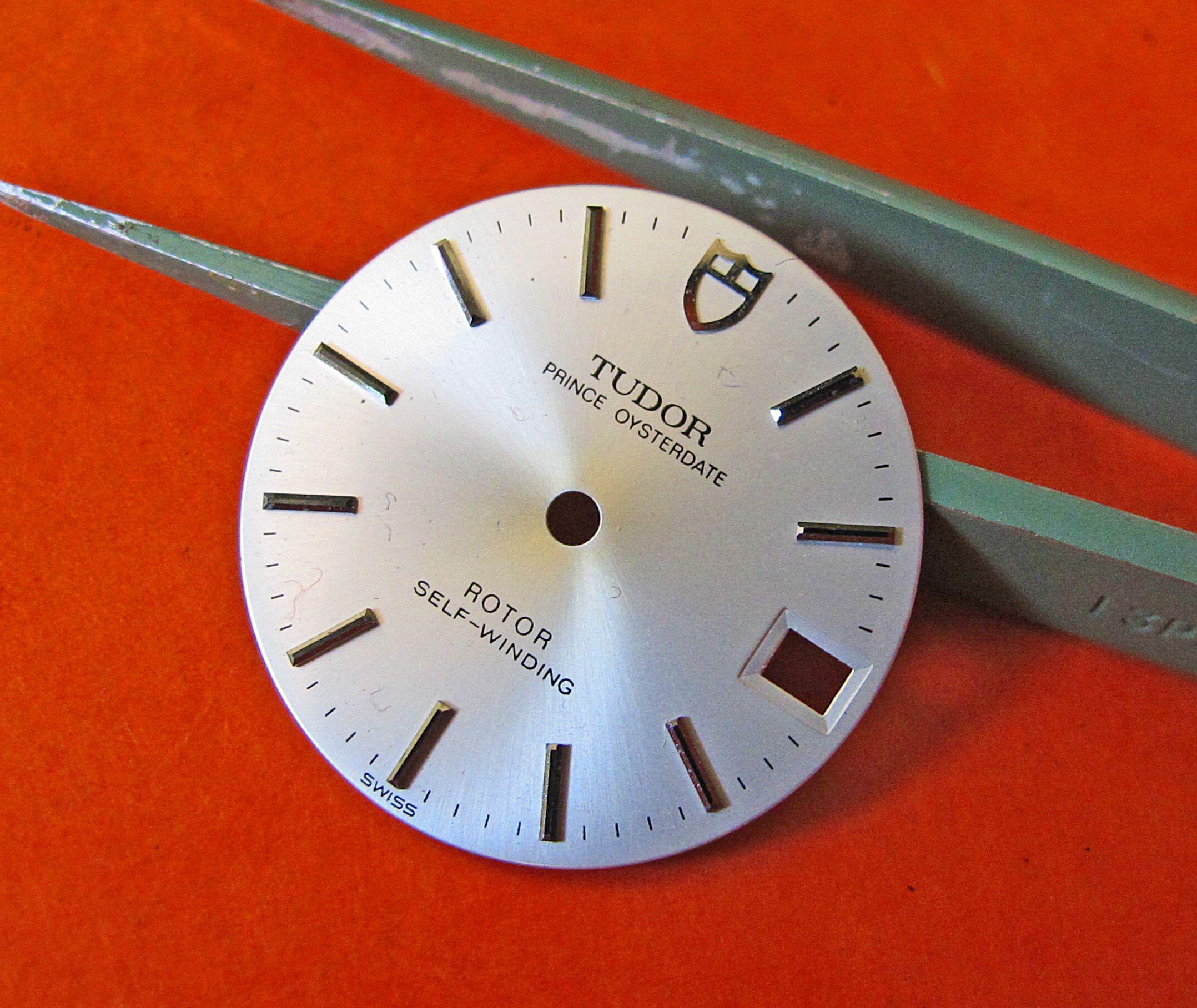Rolex Tudor Silver Prince Oysterdate dial 25.5mm