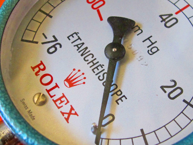 VINTAGE ETANCHEISCOPE ROLEX COLLECTOR ! WATERPROOF TOOL