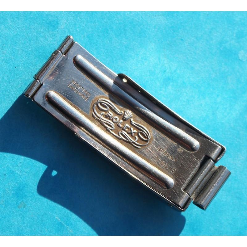 ROLEX 1988 BOUCLE DEPLOYANTE FERMOIR ref 62523H 18 BLINDE/JUBILEE OR ACIER GMT 16713, 16753, 1603, pour bracelets 20mm