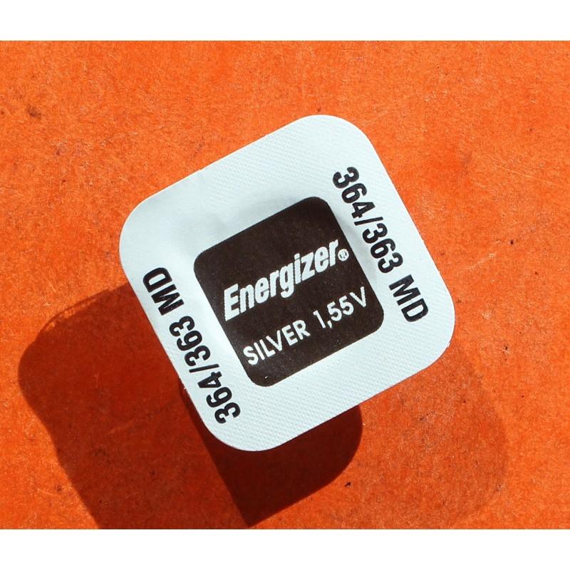 1 pile 364-363 ENERGIZER 364-3639LD, SR621SW, SR621W, SR60