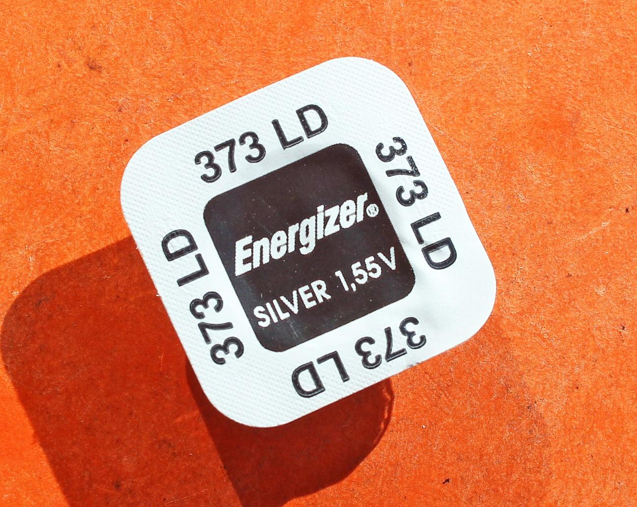 PILE MONTRE 373 LD, 373 - SR68 - OXYDE D'ARGENT ENERGIZER - 1,55V