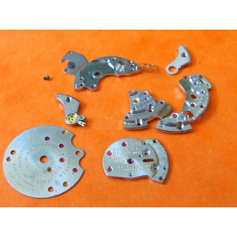 Various Rolex spares cal 2030 2130 2135 2035 for repair or restore
