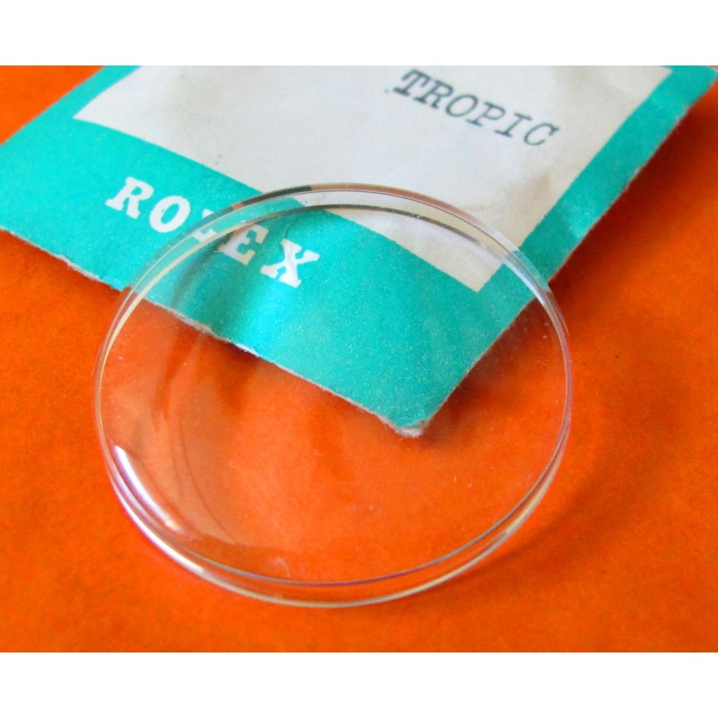 Rolex Crystal Tropic 23 NewFits Explorer 6352 -6353 BUBBLE BACK