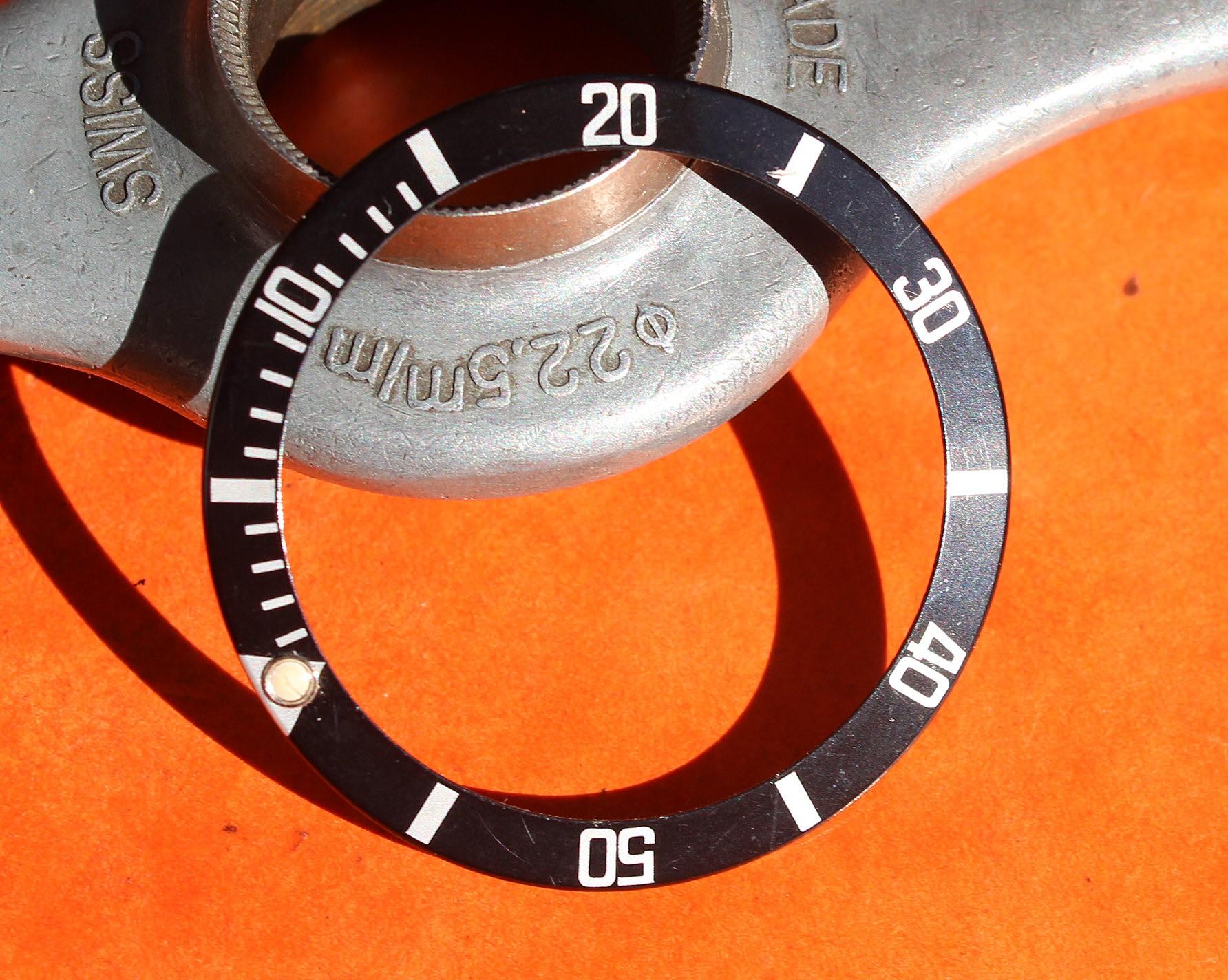 RARE VINTAGE ROLEX INSERT MONTRES 16800, 16800, 16610 SUBMARINER DATE & PERLE LUMINOVA