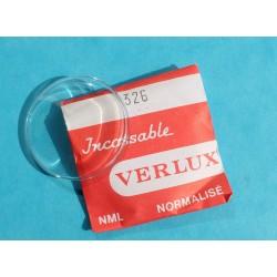 Verre plexyglass VERLUX 326 de montre vintage glace bombé incassable NML normalisé