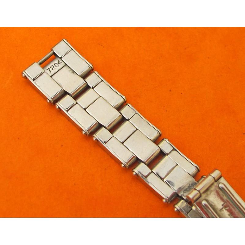 BRACELET ROLEX VINTAGE RIVETS 7204 1971 LADIES 13MM