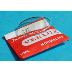 Verre plexyglass VERLUX 316 de montre vintage glace bombé incassable NML normalisé