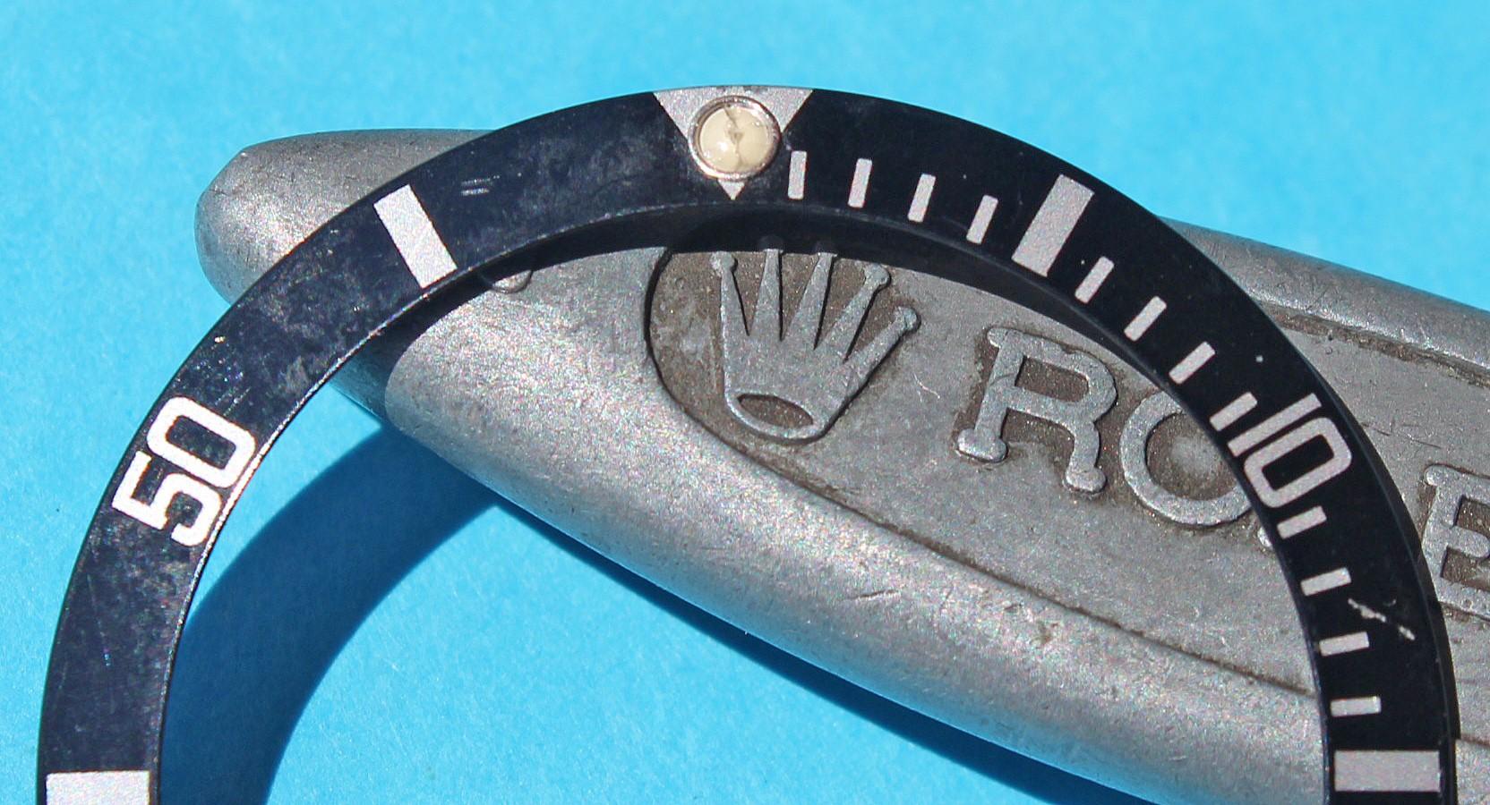 ROLEX VINTAGE INSERT MONTRES 16800, 16800, 16610 SUBMARINER DATE & PERLE TRITIUM