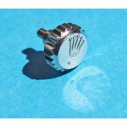 Genuine 18K Gold Datejust, Daydate, President Ø6mm Rolex Watch Crown with stem 16233, 6105, 6304, 18239, 18248, 18249, 18296