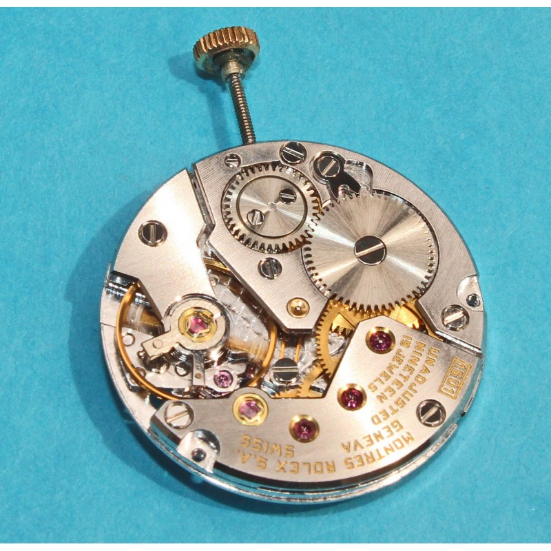 Rolex Rare calibre manuel, mecanique NEUF ref 1601 de montres Cellini