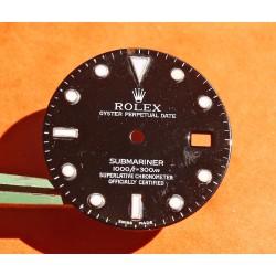 Rolex 2000's luminova Glossy dial Submariner date 16800, 168000, 16610 Black Index cal 3035, 3135