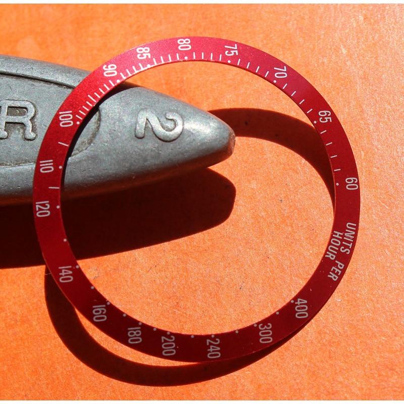TUDOR Garnet Metal Color Chronograph Date 79260, 79280 Tiger watch bezel insert tachymeter part