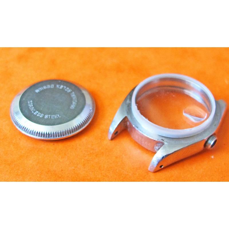 Vintage Ladies Datejust Rolex S/S Watch Case, ref 69173 Genuine