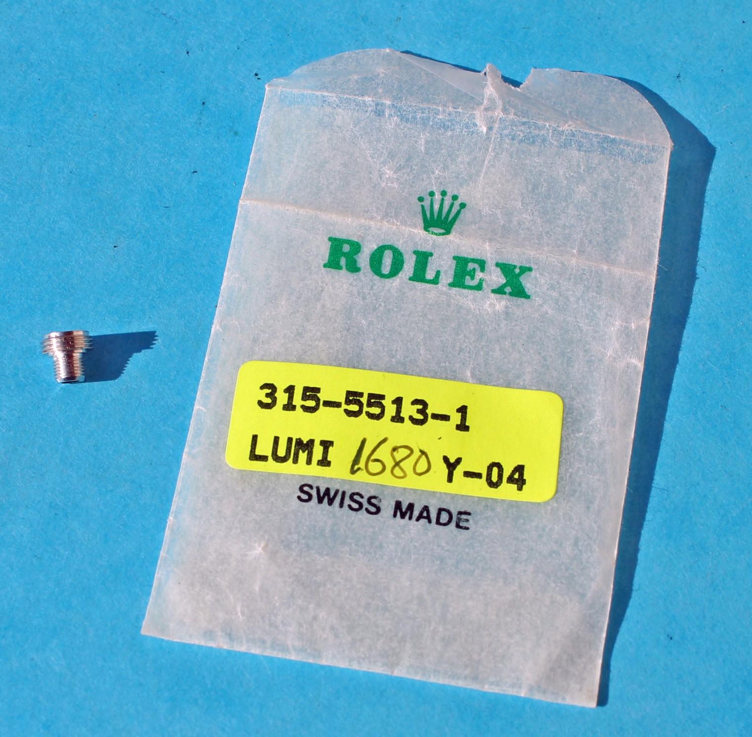 ★Rolex, Tudor Rare 24-700 Twinlock crown tube old submariner 5512, 5513, 1680, 1665 Sea-Dweller, Daytona 6263, 6265, 6239, 6241★