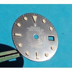 Rare N.O.S 80's Rolex 16550 Creamy Oyster Perpetual Date ''Explorer II'' Rail Dial cal 3085