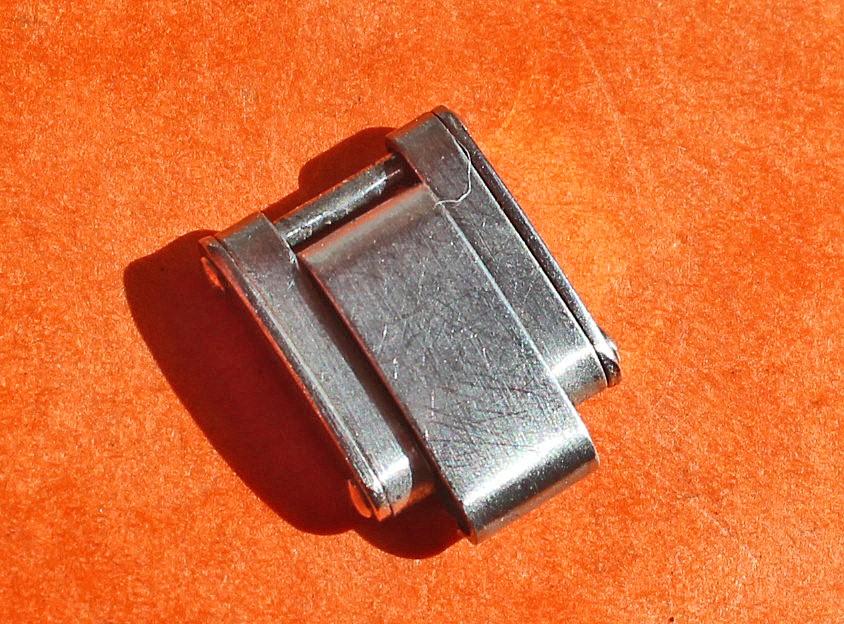 Rolex antique Partial 60's band spares parts 7204 Original Ladies Rolex 13mm SS Rivets links Bracelet watches