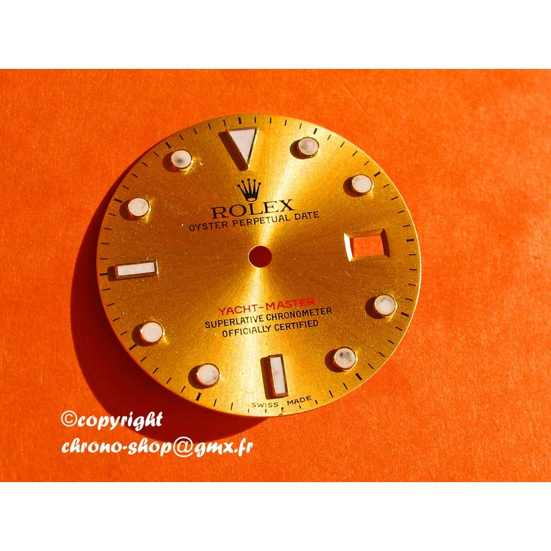 YACHMASTER GOLD DIAL 16623-16628