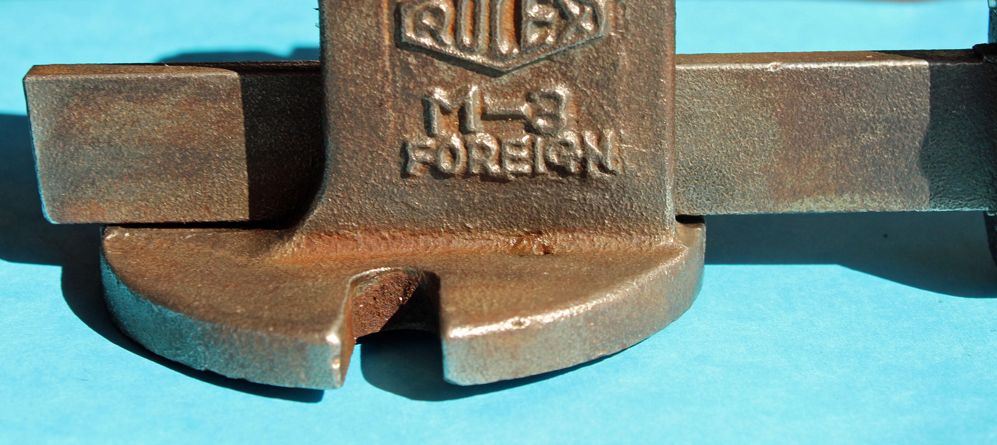 Rolex Rare vintage Etau en fonte ROLEX d'établi ref FOREIGN M-3 pour horloger montres Rolex outillage & accessoires horlogers