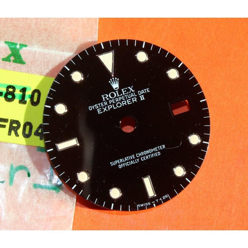 ROLEX VINTAGE CADRAN TRITIUM ORIGINAL MONTRES EXPLORER II 2 DATE 16550, 16570 TRITIUM CAL 3085