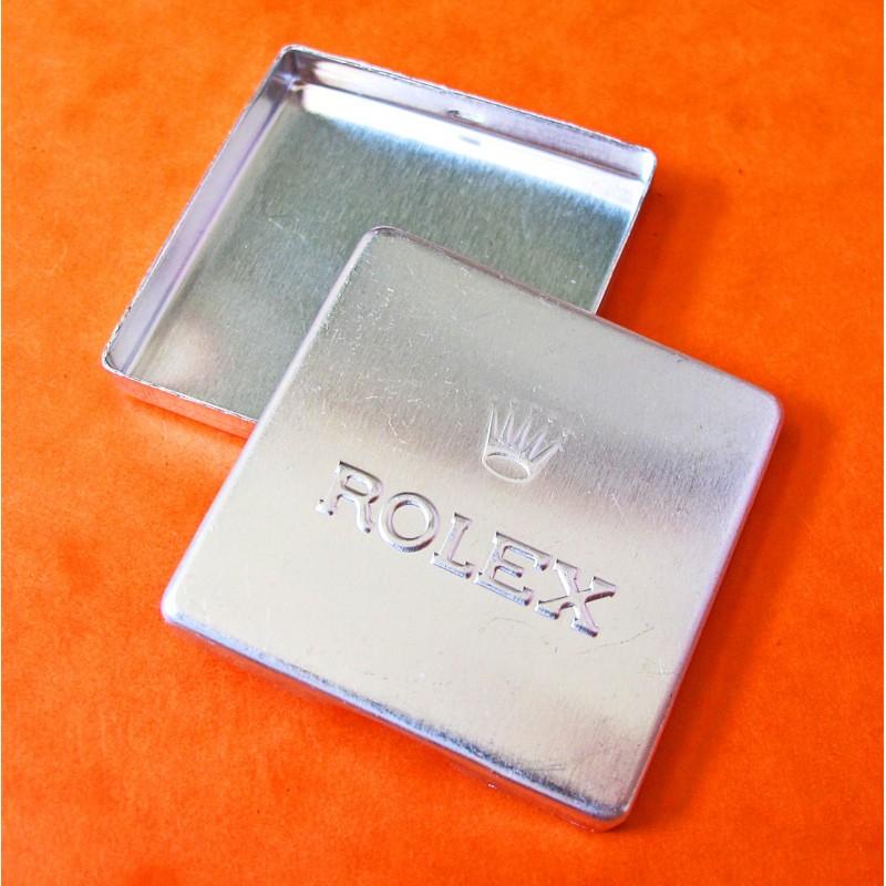 Boite métallique ancienne de Rolex X 1