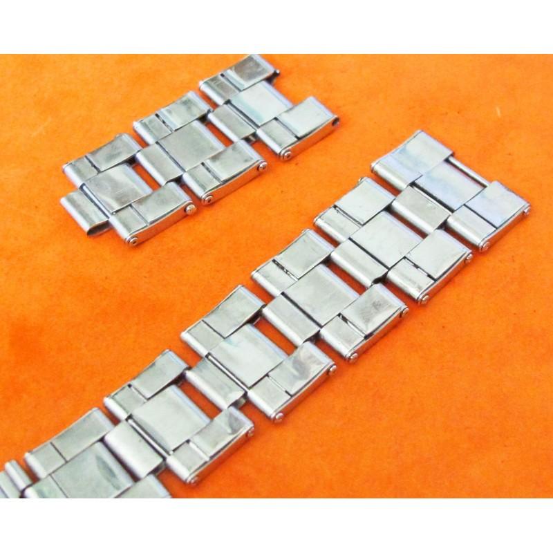 VINTAGE BRACELET ROLEX RIVETS 20mm PARTS X 2