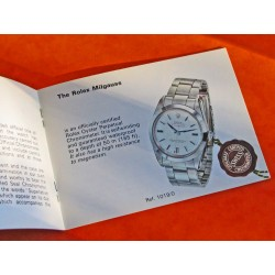 1975 VINTAGE BOOKLET MILGAUSS 1019