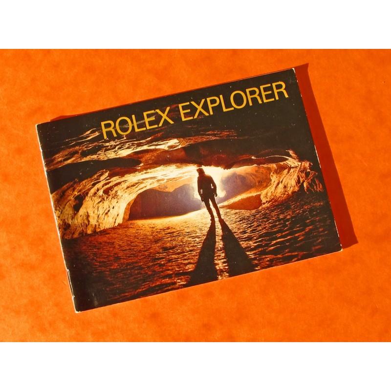BOOKLET EXPLORER 14270- 16570
