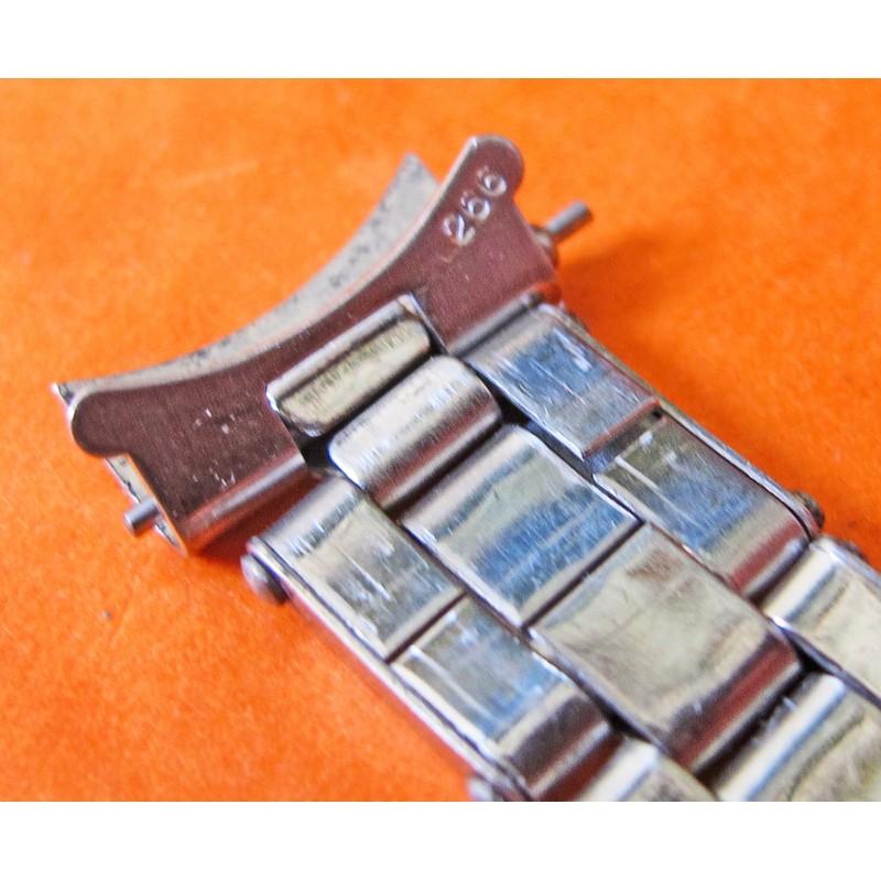 "1966 RARE Original Ladies Rolex  ""Gay Frères"" 13MM SS Rivets Bracelet 60's"