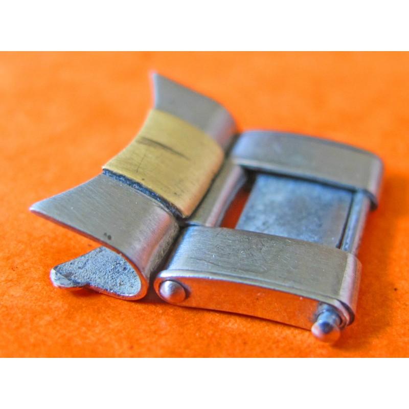 """Vintage 17mm bracelet rivets embout """"51"""" + maillon or acier"""
