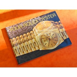 """BOOKLET ROLEX """"-YOUR ROLEX OYSTER-"""" 1990"""