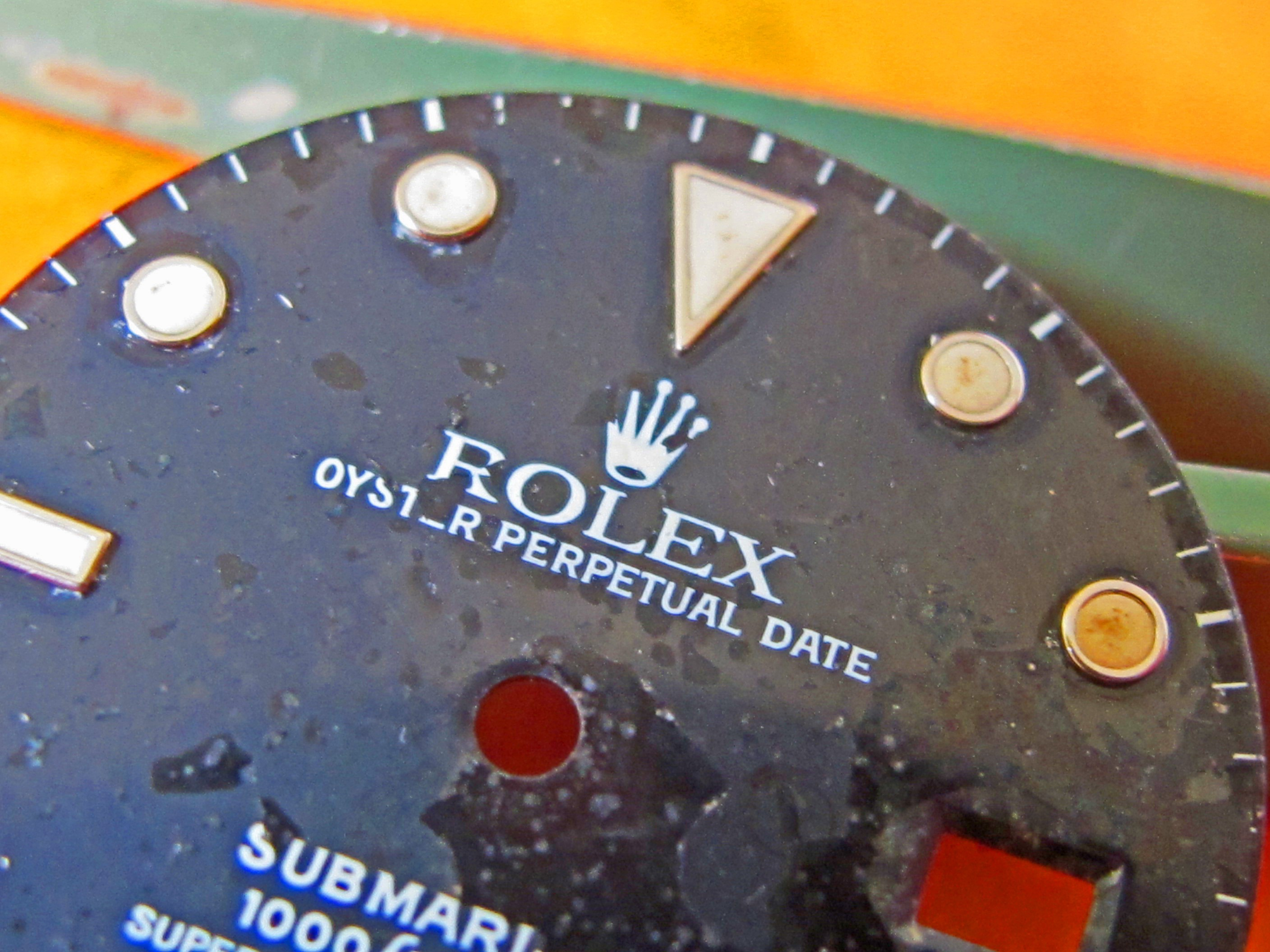 ROLEX TRANSITION SUBMARINER GLOSSY DIAL 168000