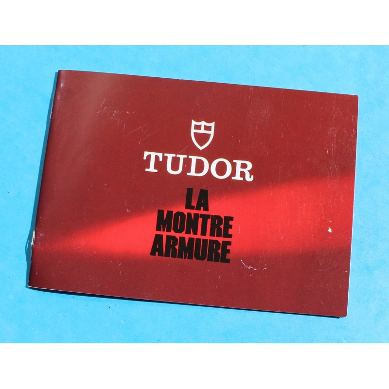 Tudor Vintage Red purple Leather Business Document Guarantee Papers watches Card Wallet ref 106 00 41
