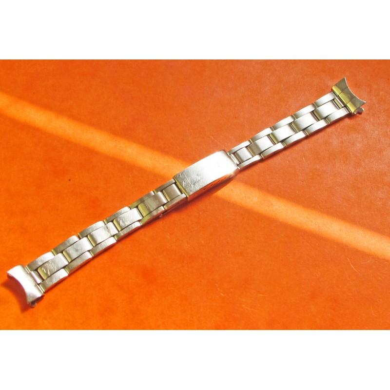 BRACELET ROLEX ACIER 7834 LADY FEMME 13mm plié