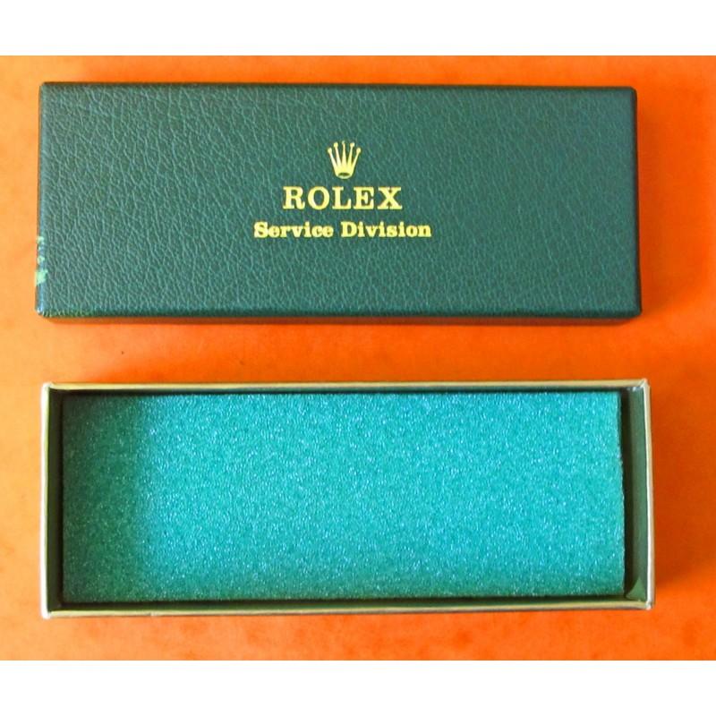 BOITE ETUI REVISION ROLEX VINTAGE 1972