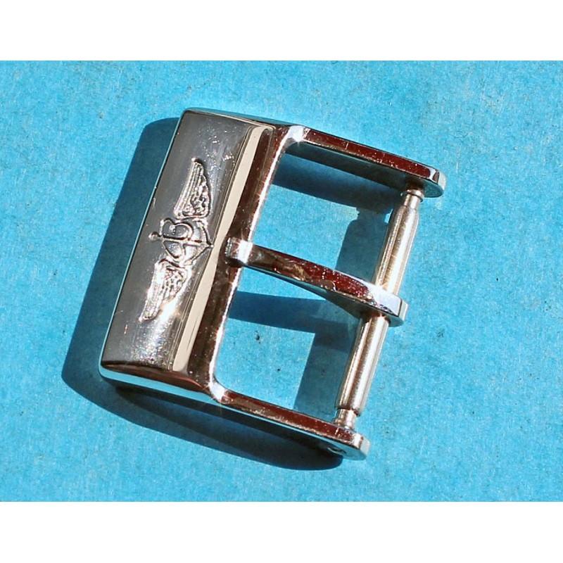 BOUCLE ACIER ARDILLON 16/18mm MONTRES BREITLING POUR BRACELET CUIR