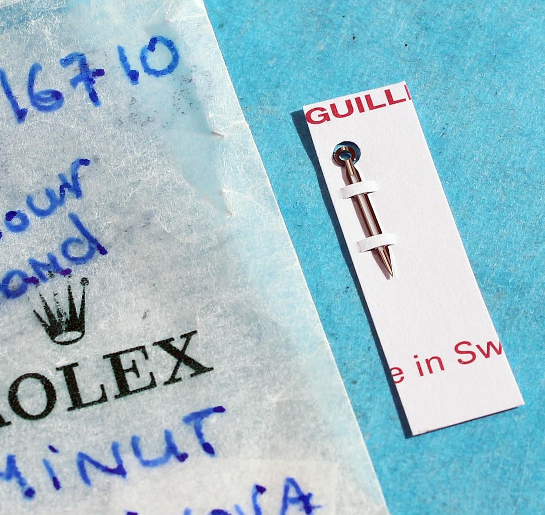 ROLEX NOS ORIGINAL OEM 1 x LUMINOVA GMT HAND FOR GMT MASTER II WATCHES 16710 AUTO CAL 3175