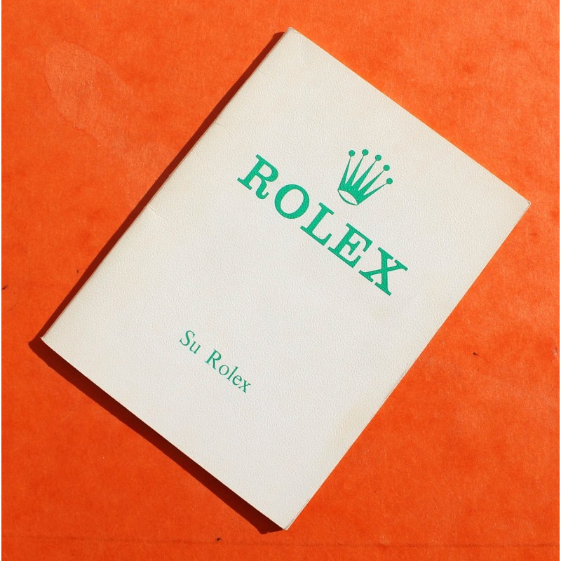 Rolex vintage SU ROLEX 1973 Authentic Submariner watches Booklet 1680 red, Sea-Dweller 1665, DRSD, 5512, 5513 Ref 579.04 -11.72