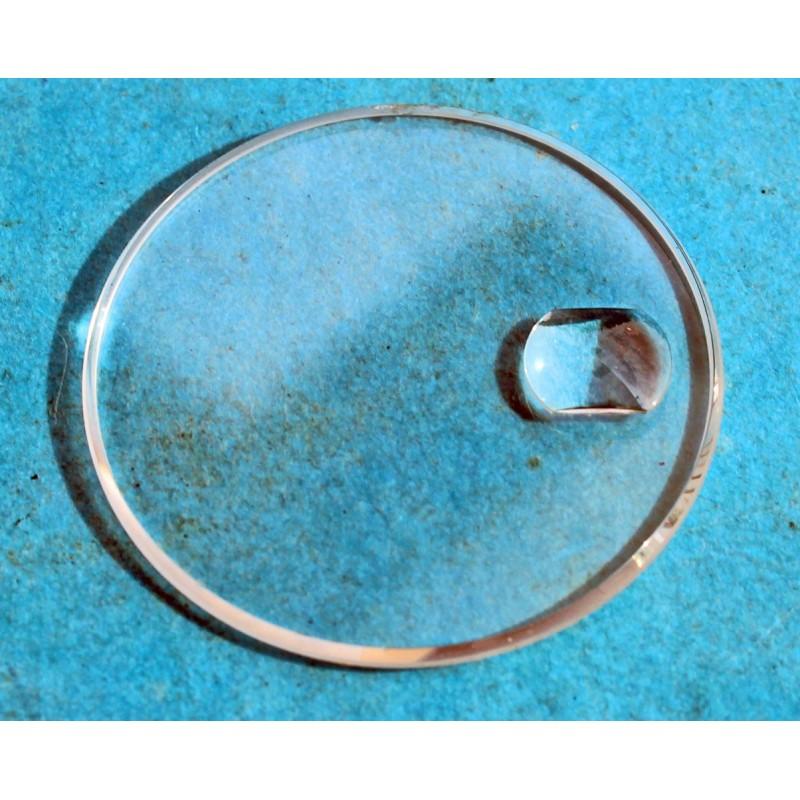 ROLEX ORIGINALE GLACE VERRE CYCLOPE SAPHIR MONTRES ROLEX SUBMARINER DATE 16800, 16610, 168000 Ø30.60mm