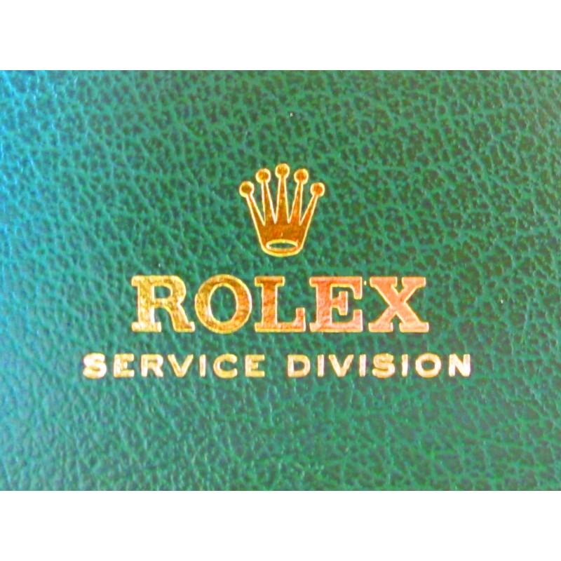 BOITE ETUI REVISION ROLEX VINTAGE 1978