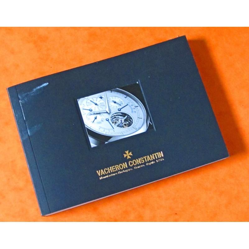 Vacheron Constantin Genève Les Collections 2011 - 2012 Book - Stunning Images Dealer 185 pages