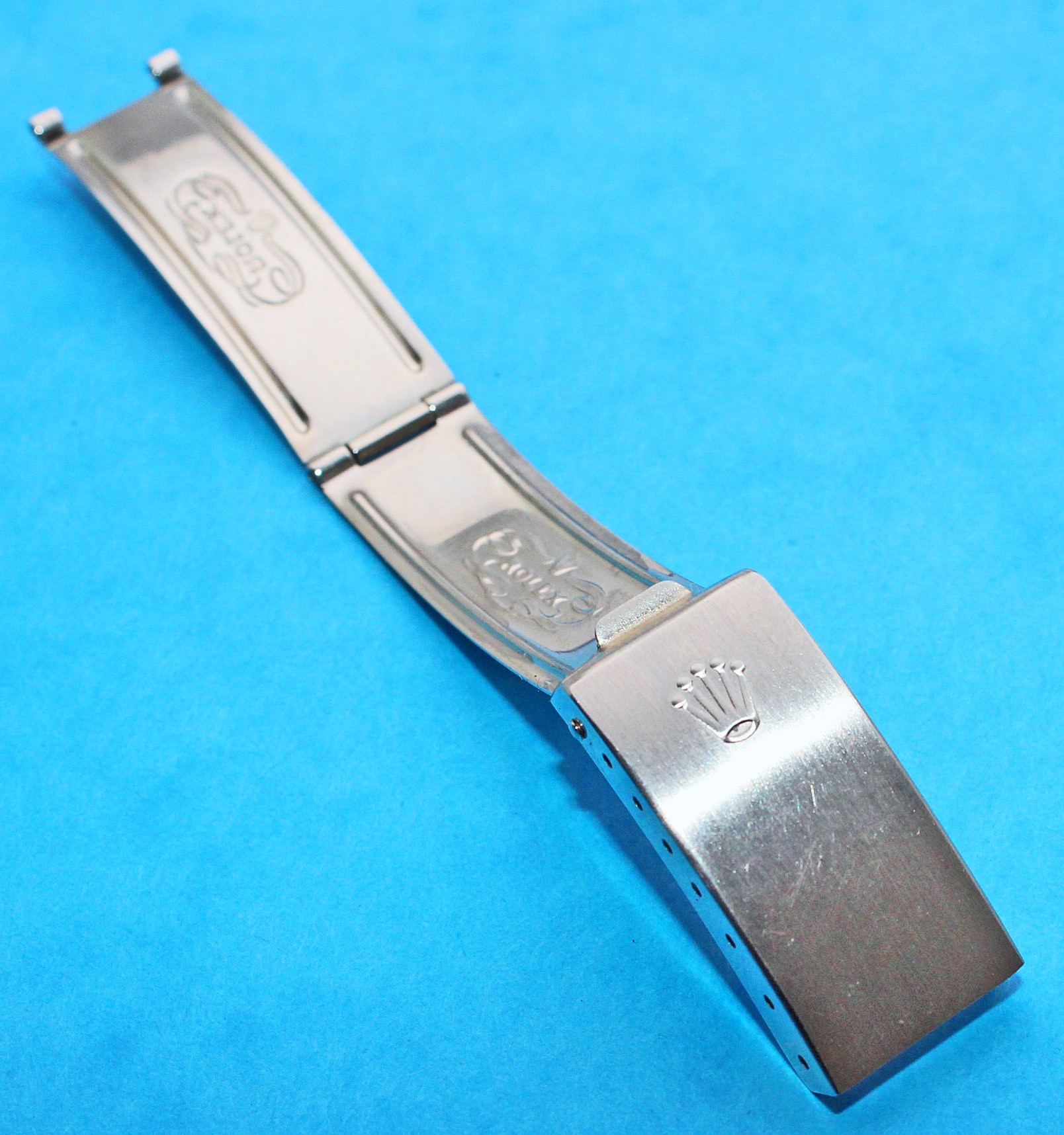 ROLEX 2003 VINTAGE WATCH FOLDED CLASP DEPLOYANT Ref 78350 19mm BRACELETS OYSTER CODE AD1