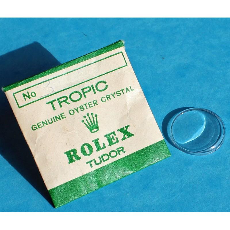 ROLEX VERRE PLEXIGLAS SUPERDOME TROPIC 3 MONTRES DAMES 6503-6526, 6615-6623, 6706-6724, 6800-6807, 7936