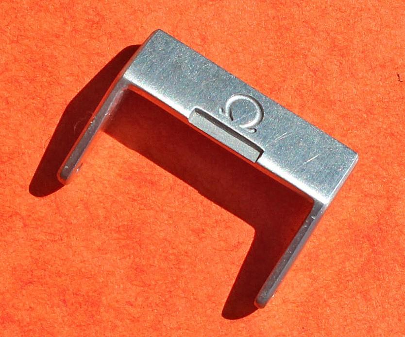 OMEGA MONTRE BOUCLE ARDILLON ACIER SATIN Ω 20/23mm ACIER INOX BRACELET ref 94512022