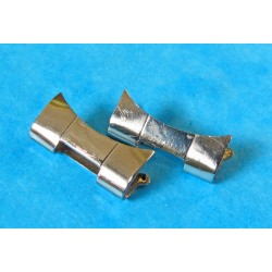 2 EMBOUTS BRACELET ROLEX TUDOR 17mm Acier Authentiques