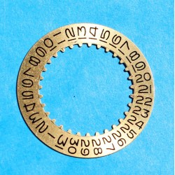 ROLEX RARE DISQUE DATE CHAMPAGNE MONTRES DATEJUST, GMT, SUBMARINER 1680-8 cal 1525, 1570, 1575, 1560, 1565 REF 7961
