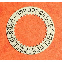 ROLEX RARE DISQUE DATE BEIGE MONTRES DATEJUST, GMT, SUBMARINER 1680-8 cal 1525, 1570, 1575, 1560, 1565 REF 7961