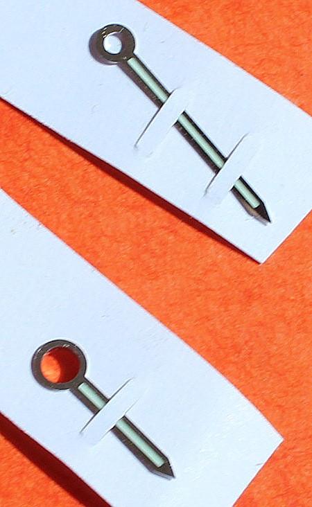 OMEGA Set complet d'aiguilles Luminova Montres de plongée Seamaster James Bond