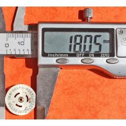 ROLEX DISQUE DATEUR CHIFFRES ARABES Ø18mm MONTRES DAMES COULEUR ARGENT CALIBRE AUTO 2035 ref 4520-2