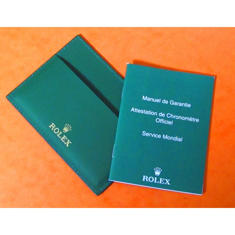 Exclusive Rolex Green Card Holder 12.5 cm x 9cm