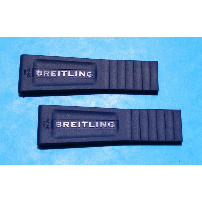 BREITLING BRACELET BLEU PRO DIVER III 24/20mm MONTRES Aerospace Avantage, Airwolf, B1, B2, Bentley GT, Bentley GT Racing